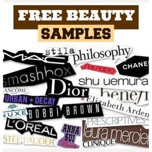 1 FREE surprise samples with every purchase!
